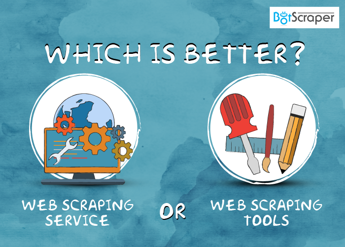 web scraping service vs web scraping software